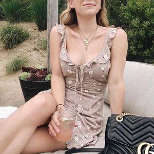 Cotton Candy LA floral dress
